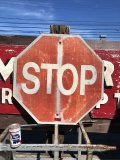 Vintage Road Sign STOP (B247)