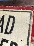 画像5: Vintage Road Sign ROAD CLOSED (B240)