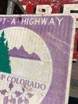 画像5: Vintage Road Sign COLORADO (B235)