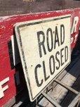 画像3: Vintage Road Sign ROAD CLOSED (B240)