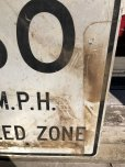 画像5: Vintage Road Sign END 30 M.P.H. SPEED ZONE (B243)