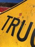 画像6: Vintage Road Sign TRUCK (B241)