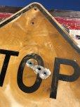 画像4: Vintage Road Sign STOP AHEAD (B237)