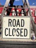 Vintage Road Sign ROAD CLOSED (B228)