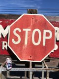 Vintage Road Sign STOP (B252)