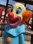 """画像8: Vintage Bozo The Clown 18"""" Big Size Bank Statue (B247)"""