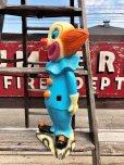 """画像3: Vintage Bozo The Clown 18"""" Big Size Bank Statue (B247)"""
