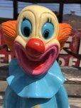 """画像9: Vintage Bozo The Clown 18"""" Big Size Bank Statue (B247)"""