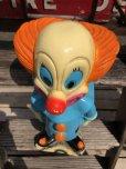 """画像10: Vintage Bozo The Clown 18"""" Big Size Bank Statue (B247)"""