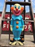 """画像1: Vintage Bozo The Clown 18"""" Big Size Bank Statue (B247)  (1)"""