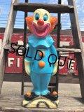 "Vintage Bozo The Clown 18"" Big Size Bank Statue (B247)"