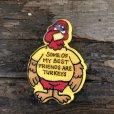 画像2: Vintage Badge Turkeys (B251) (2)