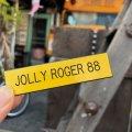 Vintage Badge JOLLY ROGER 88 (B257)