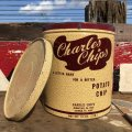 Vintage Tin Can Charles Chips (B261)