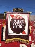 Vintage Pabst Beer Banner Flag (B265)