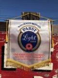 Vintage Pabst Beer Banner Flag (B264)