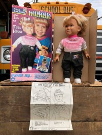 90s Vintage FULL HOUSE Real Talking Michelle Doll (B269)