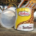Vintage Tin Can Fisher's Sunflower Nuts (B361)