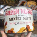 Vintage Tin Can Golden Nugget Mixed Nuts (B363)