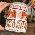 Vintage Tin Can Plantation Peanut Crunch (B357)