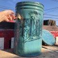 Vintage FLOUR Tin Can (B388)