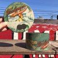Vintage Fralinger's Salt Water Taffy Tin Can (B383)