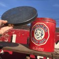 Vintage Musser's Potato Chips Tin Can (B385)