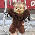 Vintage Rubber Face Doll Mini Bear (B392)