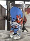 70s Vintage Pepsi Glass  Yosemite Sam & Speedy Gonzales (B401)
