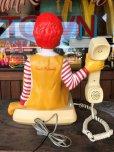 画像3: 80s Vintage Telephone Ronald McDonald Canada Ver (B430)