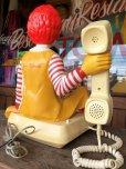 画像13: 80s Vintage Telephone Ronald McDonald Canada Ver (B430)