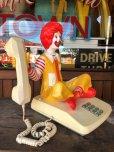画像2: 80s Vintage Telephone Ronald McDonald Canada Ver (B430) (2)
