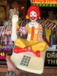画像16: 80s Vintage Telephone Ronald McDonald Canada Ver (B430)