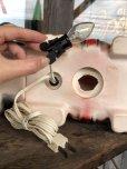 画像11: 70s Carnival Prize Vintage Hound Dog Plastic Lamp (B431)