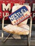 画像1: Vintage NESTLE'S king size Bar Pillow Cushion (B433) (1)