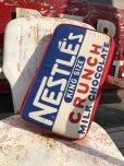 画像8: Vintage NESTLE'S king size Bar Pillow Cushion (B433)