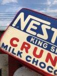 画像2: Vintage NESTLE'S king size Bar Pillow Cushion (B433) (2)