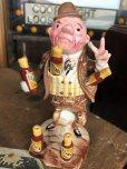 画像10: Vintage OZARK Moonshine Ceramic Toothpick  Holder (B440)