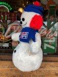画像5: 70s Vintage Pepsi Christmas Doll Snow Man 52cm (B444)
