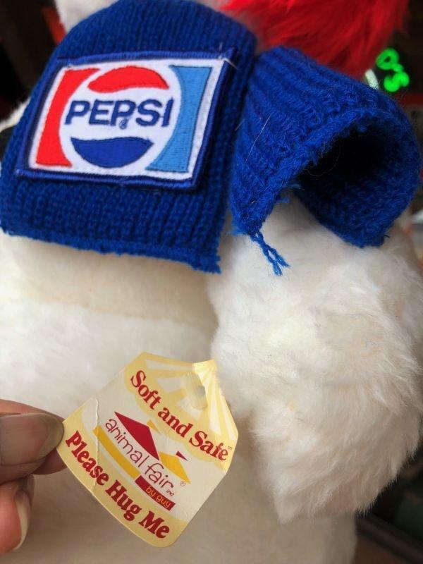 画像2: 70s Vintage Pepsi Christmas Doll Snow Man 52cm (B444)