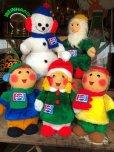 画像9: 70s Vintage Pepsi Christmas Doll Snow Man 52cm (B444)