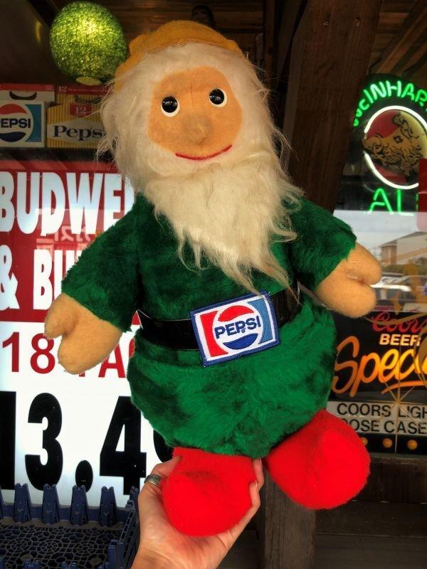 画像1: 70s Vintage Pepsi Christmas Doll 46cm (B443)