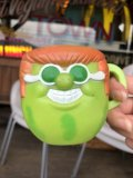 70s Vintage Funny Face Mug With It Watermelon (B447)