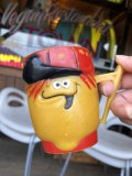 60s Vintage Funny Face Mug  Lefty Lemon (B444)