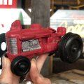 50s Vintage Rubber Tractor toy (B455)
