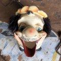 50s TILSO Japan Hobo Drunk Face Ceramic Ashtray (B456)