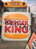 Vintage Burger King Old Logo Outdoor Sign Super Big Size!!! (B469)