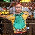 Vintage Gund  Hand Puppet WDP Peter Pan Wendy (B471)