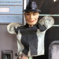 60s Vintage Ideal Hand Puppet Dick Tracy (B474)