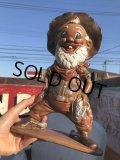 Vintage Nugget Sam Ceramic Statue (B475)